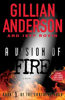 A Vision on Fire-by Gillian Anderson, Gillian Anderson cover pic