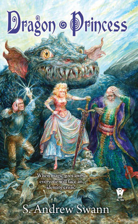 Dragon Princess-by S. Andrew Swann cover