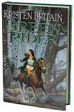 Green Rider-by Kristen Britain cover