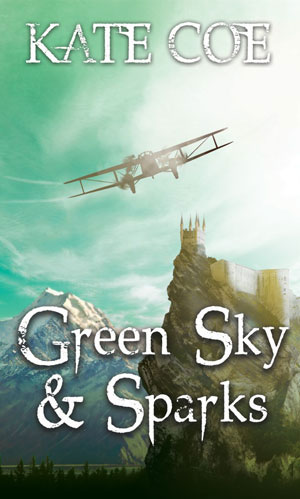 Green Sky & Sparks-by Kate Coe cover pic