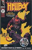 Hellboy, Vol. 1: Seed of Destruction-by Mike Mignola cover