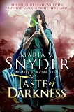 Taste of Darkness - Book 3 of the Avry of Kazan series-by Maria V. Snyder cover pic