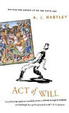 Act of Will, by A. J. Hartley cover pic