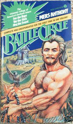 Battle CirclePiers Anthony cover image