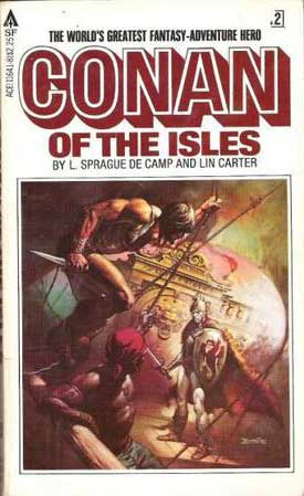Conan of the Isles, by L. Sprague de Camp, Lin Carter cover image