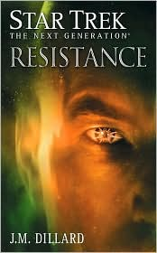 TNG: Resistance, by J.M. Dillard cover image