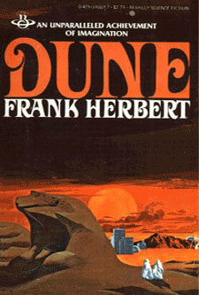Dune-by Frank Herbert cover pic