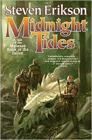 Midnight Tides-by Steven Erikson cover pic