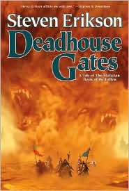 Deadhouse Gates-by Steven Erikson cover pic