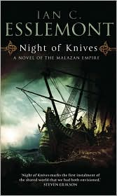 Night of KnivesIan C Esslemont cover image