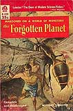 The Forgotten Planet-by Murray Leinster cover pic