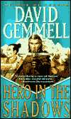Hero in the Shadows-by David Gemmell cover
