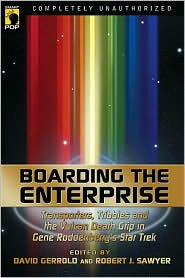 Boarding the EnterpriseDavid Gerrold, Robert Sawyer cover image