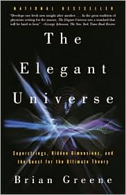 The Elegant Universe-by Brian Green cover pic