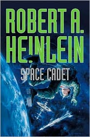 Space Cadet-by Robert Heinlein cover