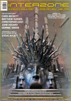 Interzone 198, edited by Andy Cox cover image
