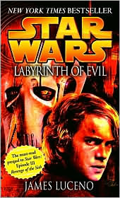 Labyrinth of Evil-by James Luceno cover pic