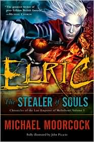 Elric: Stealer of Souls-by Michael Moorcock cover pic