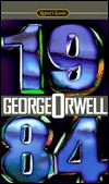 1984, by George Orwell cover image