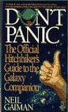 Don't Panic: The Official Hitchhikers Guide to the Galaxy Companion-by Neil Gaiman cover pic