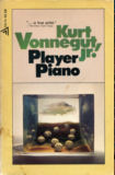 Player Piano-by Kurt Vonnegut cover