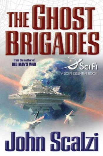 The Ghost Brigades-by John Scalzi cover