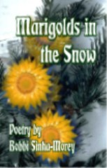 Marigolds In The Snow-edited by Bobbi Sinha-Morey cover