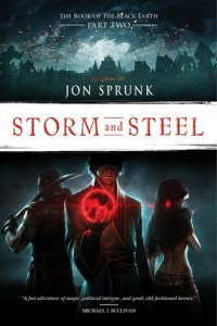 Storm and SteelJon Sprunk cover image