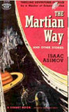 The Martian Way and Other Stories-by Isaac Asimov cover