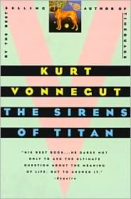 Sirens of Titan-by Kurt Vonnegut cover