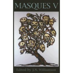 Masques V-edited by J. N. Williamson, Gary A. Braunbeck cover