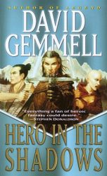 hero-in-the-shadows-by-david-gemmell cover