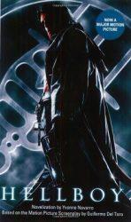 Hellboy, by Yvonne Navarro book cover