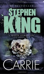Carrie, by Stephen King book cover