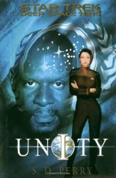 Deep Space 9 Unity, by S. D. Perry book cover