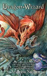 Dragon Wizard, by Andrew Swann book cover