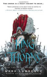King of Thorns, by Mark Lawrence book cover