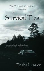 Survival Ties, by Trisha Leazier book cover