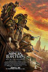 Teenage Mutant Ninja Turtles Out of the Shadows movie poster