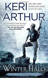 Winter Halo, by Keri Arthur book cover