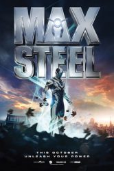 Max Steel (2016), Rated PG-13 movie poster