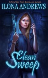 Clean Sweep, by Ilona Andrews book cover