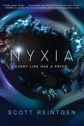 Nyxia, by Scott Reintgen book cover