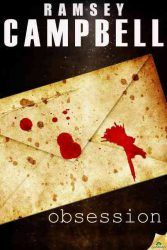 Obsession, by Ramsey Campbell book cover
