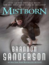 Mistborn, by Brandon Sanderson book cover