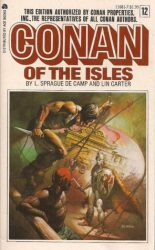 Conan of the Isles, by L. Sprague de Camp, Lin Carter book cover