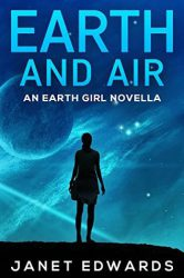 Earth and Air, by Janet Edwards book cover