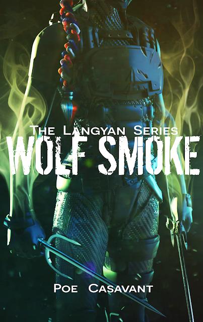 Wolf Smoke, by Poe Casavant